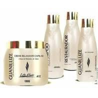 Kit Relaxamento Guanidina Guanilizze Hidróxido De Cálcio Life Hair
