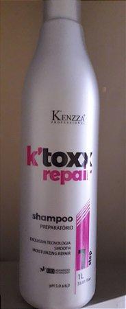 Shampoo Preparatório Kenzza K Toxx Repair 1 litro