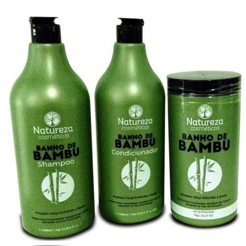 Kit Bamboo Natureza Cosméticos