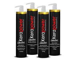 Cauterização Capilar Profissional Life Hair Kera 4-Passos 1 litro