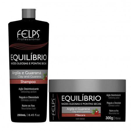 Felps Equilíbrio Argila e Guaraná Kit Tratamento Duo 2 Produtos