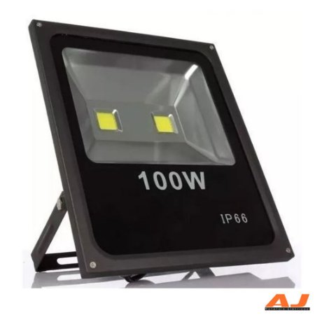 Mini Refletor Led 100w 6000k Bivolt IP66