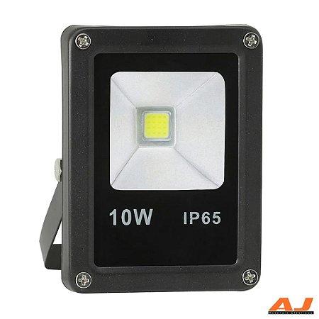 Refletor Led 10w 6000k Bivolt IP66
