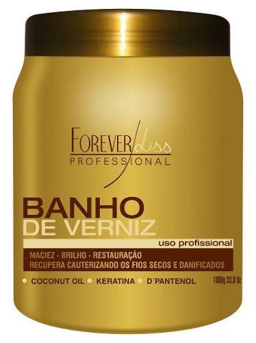 Máscara Banho de Verniz Forever Liss 1 kg