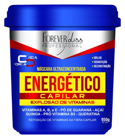 Máscara Energetico capilar capilar forever liss 940gr