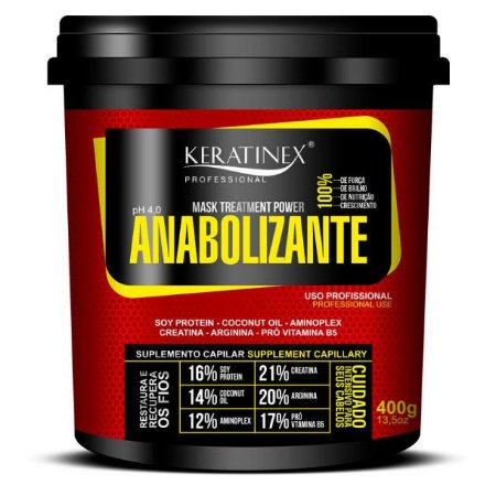 Anabolizante Keratinex 400gr
