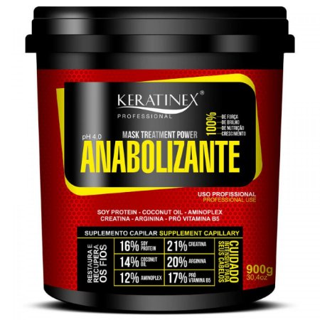 Anabolizante Keratinex 900gr