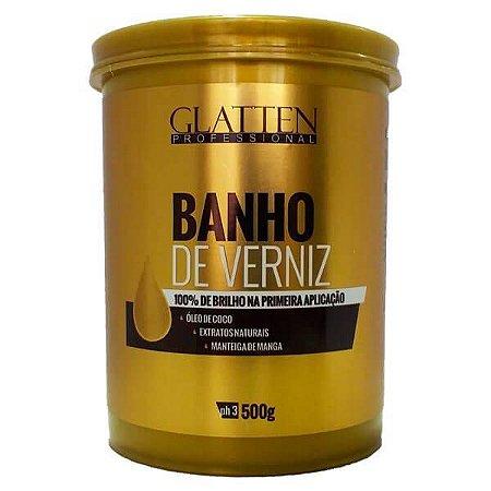 Màscara de Hidratação Glatten Banho de Verniz 500g
