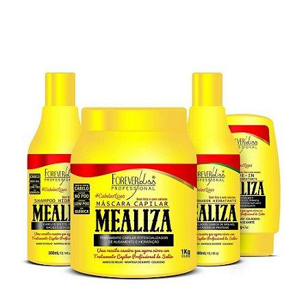 Kit Mealiza Forever Liss completo Máscara de 1kg