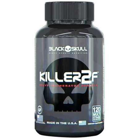 Killer 2f 120caps Black Skull
