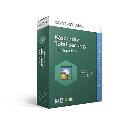 Kaspersky Total Security - Multidispositivos | 3 dispositivos - 1 ANO de proteção