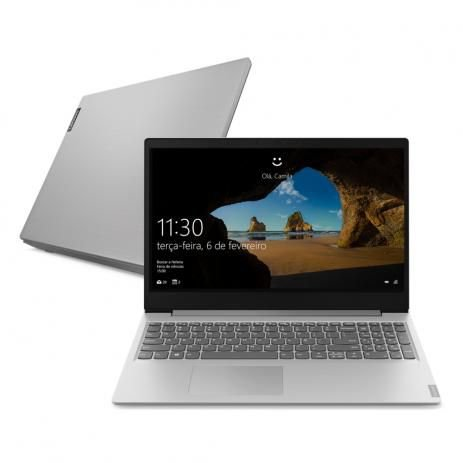 "Notebook Lenovo Ultrafino S145-15IWL I5-8265U 8GB Ram 1TB 15.6"" Prata - Windows 10"