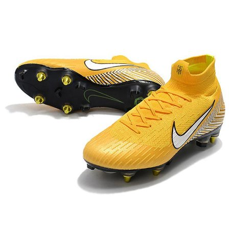 Chuteira Nike Mercurial Superfly VI Elite Amarela Campo - Arsenal ... 13a16a332bf5d