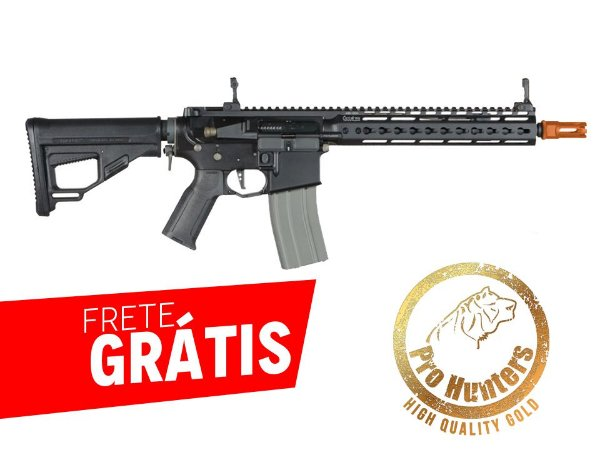 RIFLE AIRSOFT M4 ARES OCTARMS FULL METAL KM10 - Black