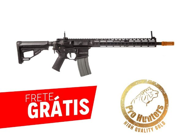RIFLE AIRSOFT M4 ARES OCTARMS FULL METAL KM13 - Black