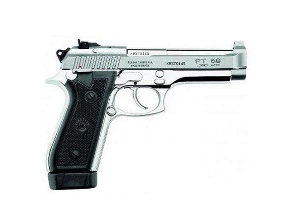 PISTOLA TAURUS PT59S calibre .380 ACP - Inox