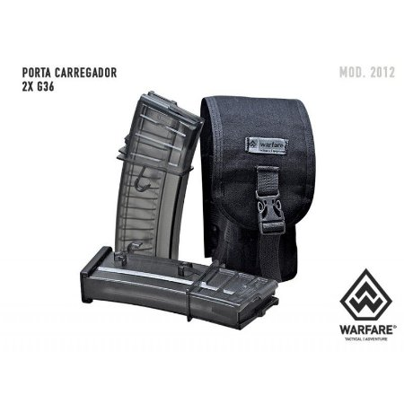PORTA CARREGADOR 556 M.O.L.L.E G36 - BLACK