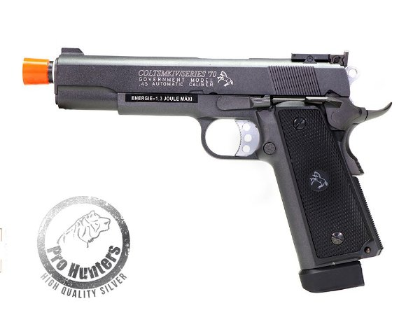 PISTOLA AIRSOFT  COLT MK IV GOVERNMENT GBB - CO2 CYBERGUN 180518