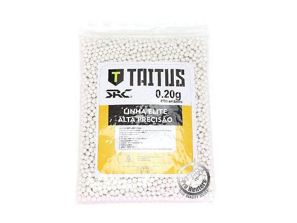 BBs 0,20g - SRC TAITUS- 4000 UNIDADES