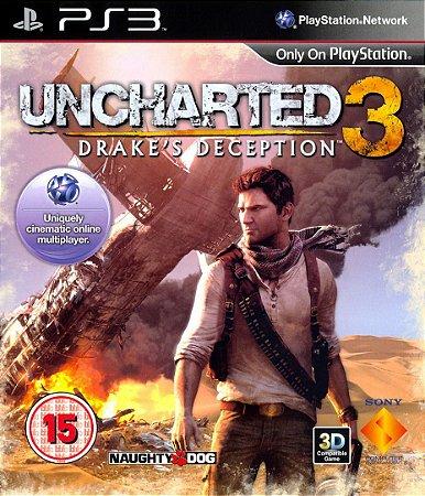 UNCHARTED 3 EDIÇÃO GAMES DO ANO PS3 MÍDIA DIGITAL - NT GAMES