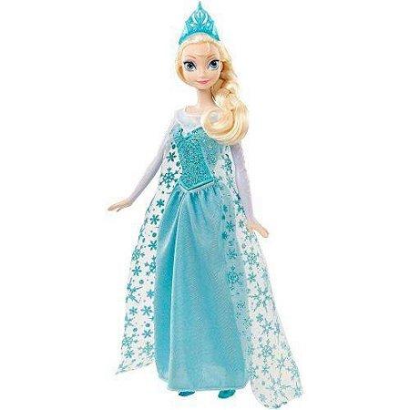 242ccb49c6 Boneca Frozen Elsa Musical - Mattel - Nanda Baby