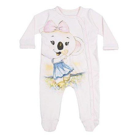 22354a5712 Macacão Lilica Ripilica Branco - Nanda Baby