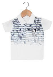 b527e39e01 Camisa Polo Tigor T. Tigre Menino Branco - Nanda Baby