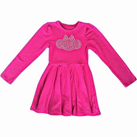 eb999ba3a Vestido Lilica Ripilica Paetês Infantil Vermelho - Nanda Baby