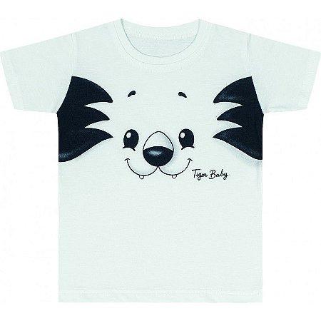 cf6ea1e609 Camiseta Manga Curta - Branca Tigor T. Tigre - Nanda Baby