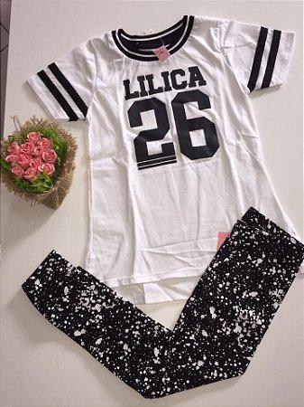 e6b2a88bd2 Conjunto Lilica Ripilica Branco - Nanda Baby