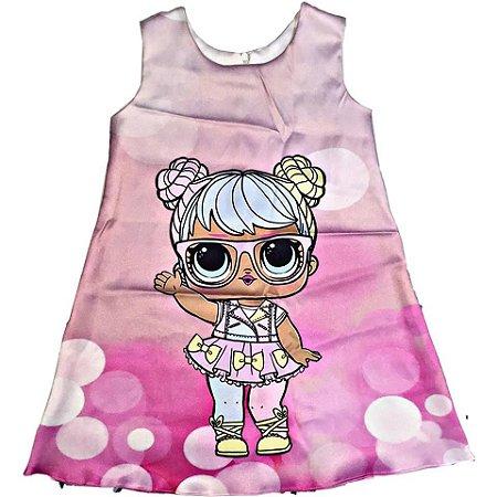 fadaf7cacf9 Vestido LOL Surprise BON BON - Nanda Baby