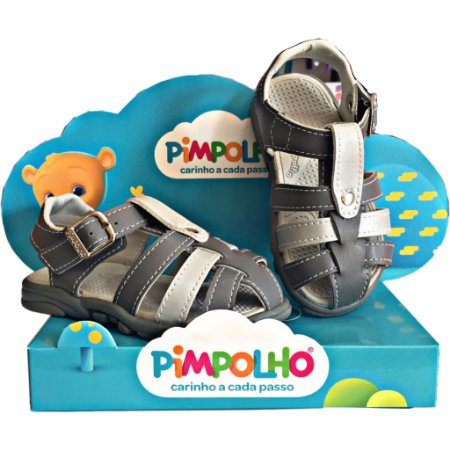 b375266a8 Sandália infantil masculina Pimpolho - Nanda Baby