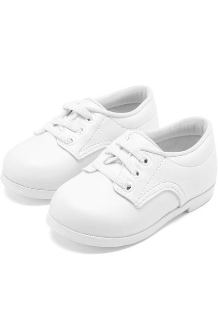 5593c1901 Sapato Pimpolho Batizado Branco - Nanda Baby