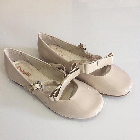 9f1d299afc Sapato infantil nude feminino Pampili - Nanda Baby