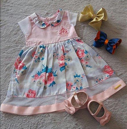 Vestido Bebê Menina Sonho De Nenem Nanda Baby