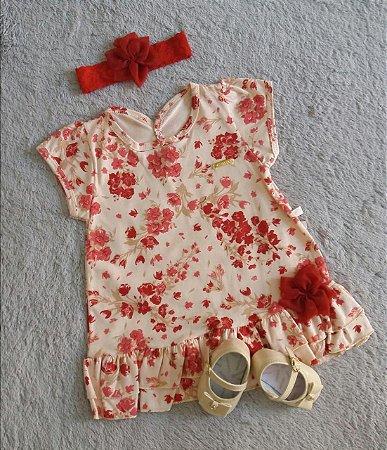 Vestido Infantil Bebê Sonho De Nenem Nanda Baby