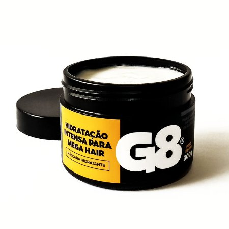Máscara de Hidratação Intensa G8 para Mega Hair  300gr