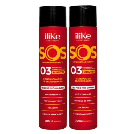 iLike SOS Antiemborrachamento Kit - 02 Produtos
