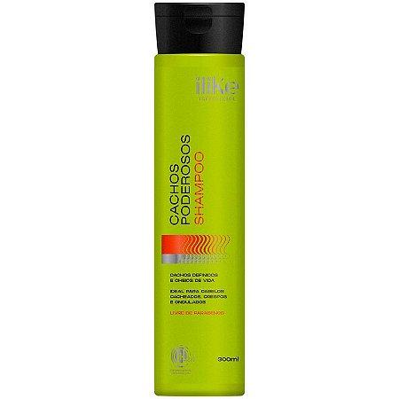 Shampoo Cabelos Cacheados Cachos Poderosos 300ml Ilike