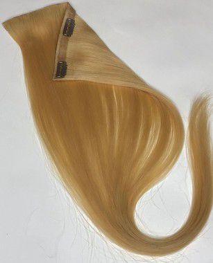 Mega Hair Tic Tac Cabelo Humano Loiro 50cm -100gr