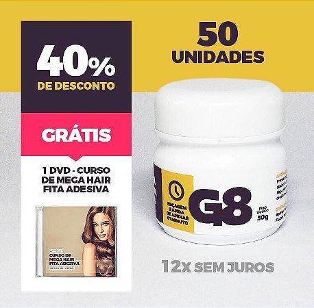 COLA TERMOATIVADA G8 50gr FABRICAÇÕA DE MEGA HAIR ATACADO - 50 unidades