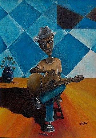Pintura Óleo sobre tela - Reginaldo Borges FRETE GRÁTIS REGIÃO SUDESTE