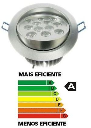 12w Spot Super Led Teto Direcional Alumínio Bivolt