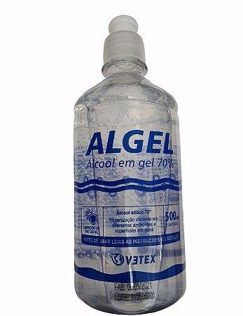 TEX ALCOOL GEL ALGEL 70% 500 ML
