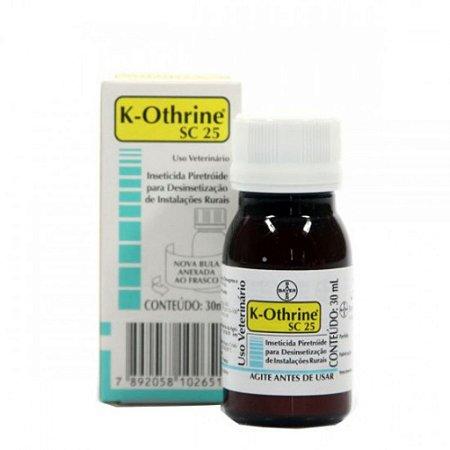 INSETICIDA K-OTHRINE SC 25 30 ML