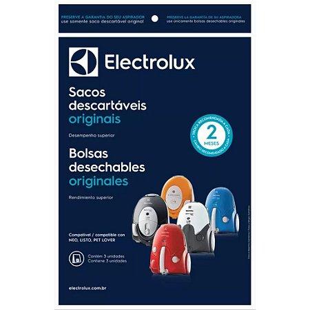 SACO DESCARTAVEL ASPIRADOR ELECTROLUX NEO C/ 03 UN