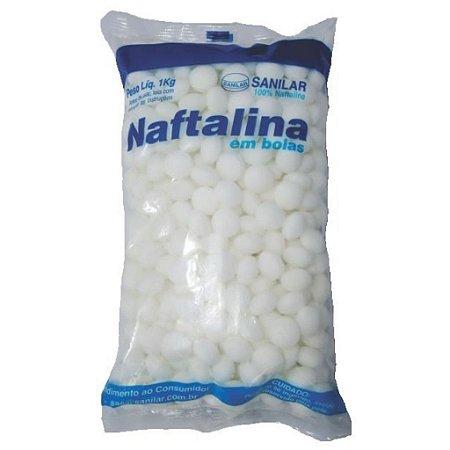 NAFTALINA SANILAR BOLAS 01 KG