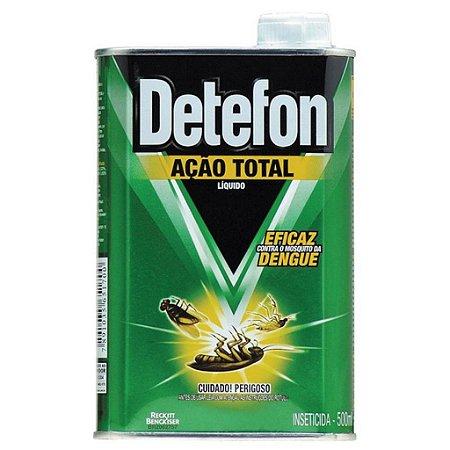 INSETICIDA LIQUIDO DETEFON AÇÃO TOTAL 500 ML