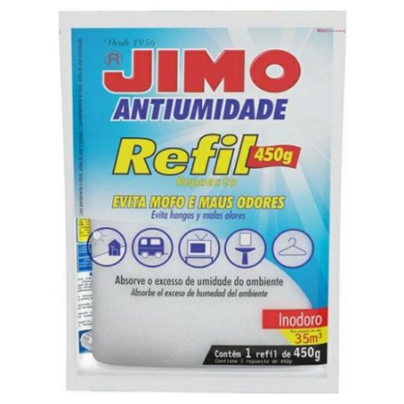 JIMO ANTIUMIDADE REFIL 450 GRAMAS
