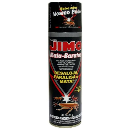 INSETICIDA JIMO MATA BARATAS AERO 300 ML